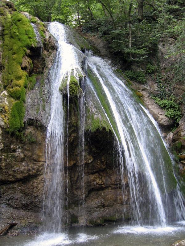 Водопад джур джур карта