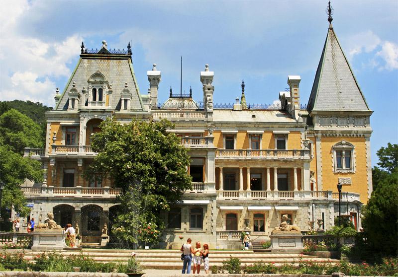 фото массандровский дворец в крыму