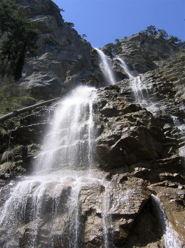 Водопад учан су карта